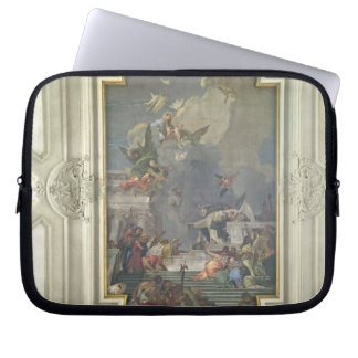 The Institution of the Rosary by St. Dominic (fres Laptop Sleeves