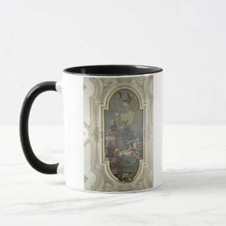 The Institution of the Rosary by St. Dominic (fres Mug