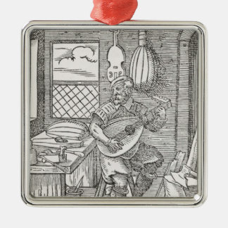 The Instrument Maker's Workshop, c.1570 Metal Ornament