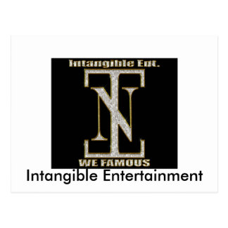 the INT symbol 2, Intangible Entertainment Postcard