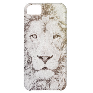 The Intellectual Lion - typography art iPhone 5C Covers
