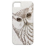 The Intellectual Owl - typography art - iphone5 iPhone 5 Cases