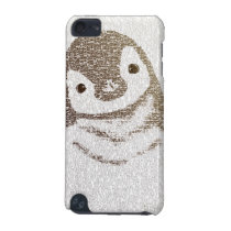 The Intellectual Penguin - typography art iPod Touch 5G Cover