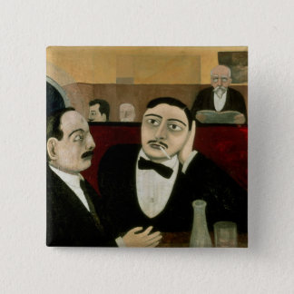 The Intellectuals at the Cafe Rotonde, 1916 Button