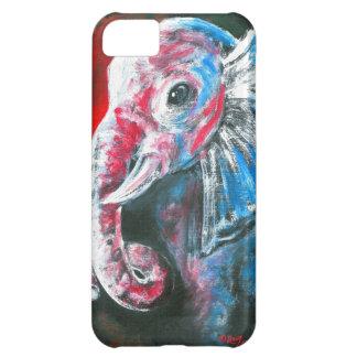 The Intelligent Elegant Elephant Case For iPhone 5C