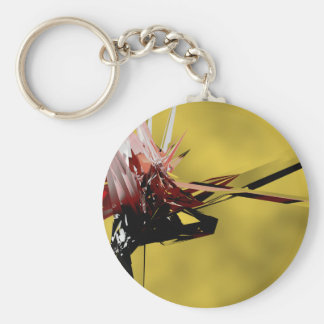 The Inter-Dimensional Traveller.png Basic Round Button Keychain