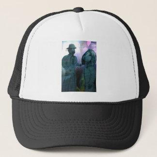 the inter travelers trucker hat