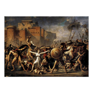 The Intercession of the Sabine Women Posters