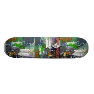 The Intergalactic Vampires Skateboard
