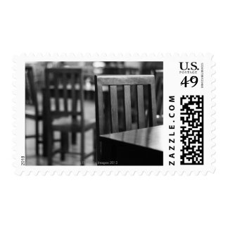 The interior of a pub stamps