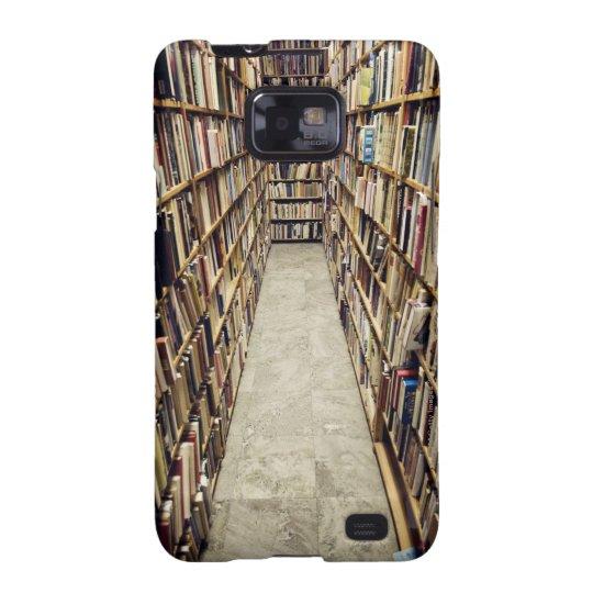 The interior of a second-hand bookshop Sweden. Samsung Galaxy S2 Case
