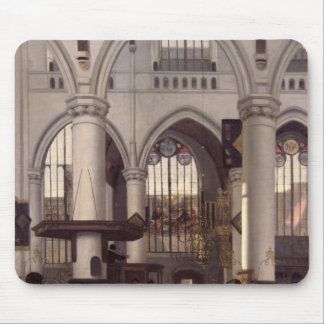 The Interior of Oude Kerk, Amsterdam, c.1660 Mouse Pad