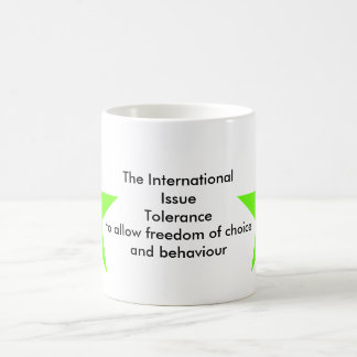 The International Issue Tolerance Star Green Lt Coffee Mug