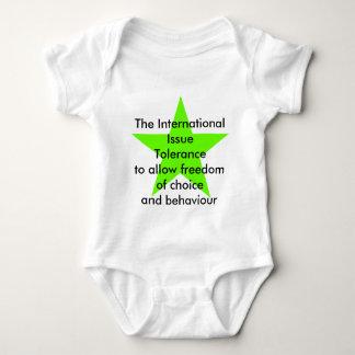 The International Issue Tolerance Star Green Lt Shirt