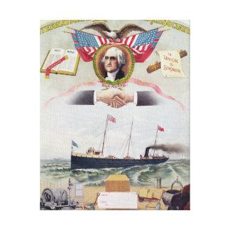 The International Longshoremen's Association Canvas Print