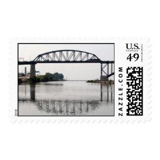 The International Peace Bridge Postage