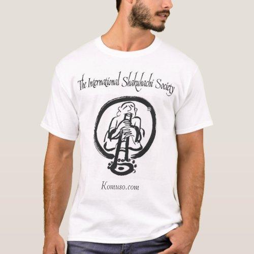 The International Shakuhachi Society T_Shirt