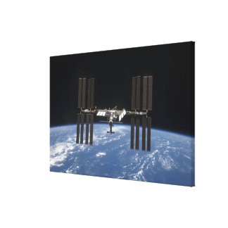 The International Space Station 11 Canvas Print
