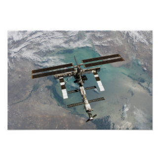 The International Space Station 11 Print