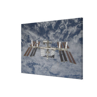 The International Space Station 12 Canvas Print