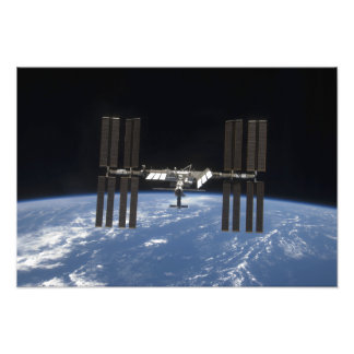 The International Space Station 12 Photo Print
