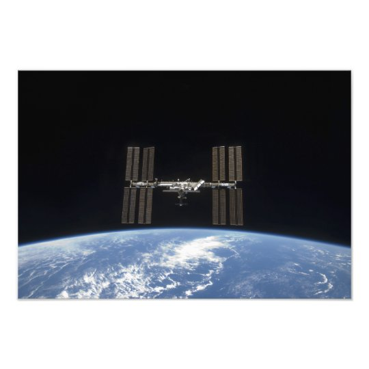 The International Space Station 13 Photo Print