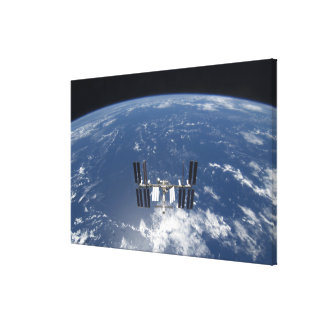 The International Space Station 14 Canvas Print