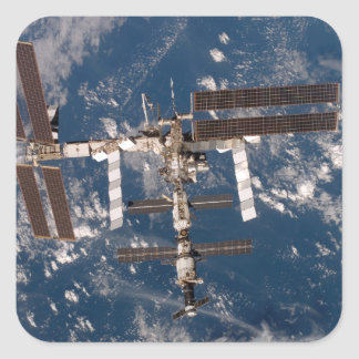 The International Space Station 15 Square Sticker