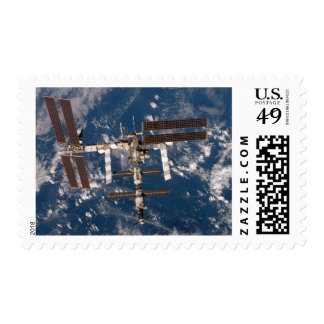 The International Space Station 15 Stamp