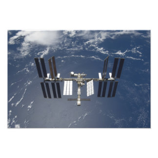 The International Space Station 16 Photo Print