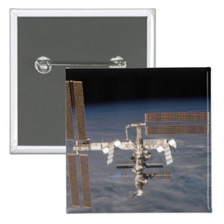 The International Space Station 16 Pinback Button