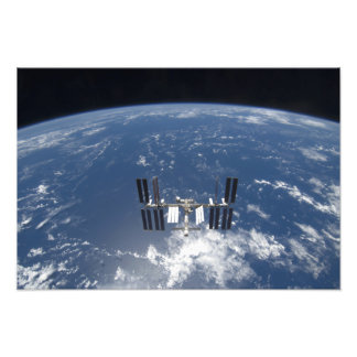 The International Space Station 17 Photo Print