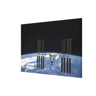 The International Space Station 18 Canvas Print