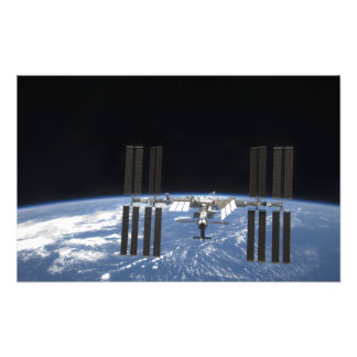 The International Space Station 18 Photo Print