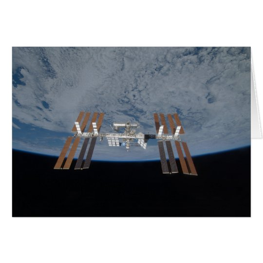 The International Space Station 2009 Card