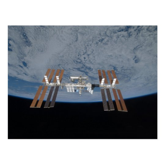 The International Space Station 2009 Postcard