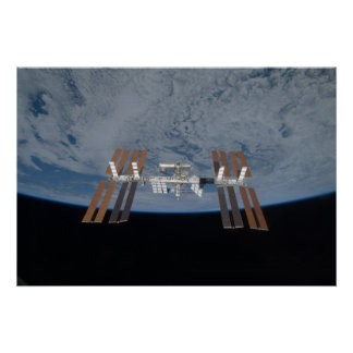 The International Space Station 2009 Print