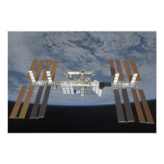 The International Space Station 2 Photo Print