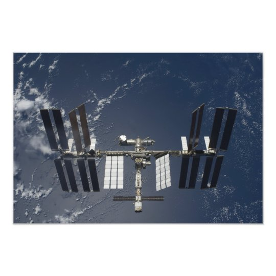 The International Space Station 4 Photo Print
