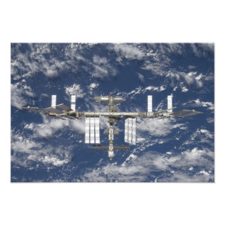 The International Space Station 5 Photo Print