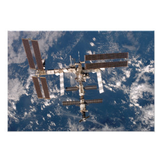 The International Space Station 6 Photo Print