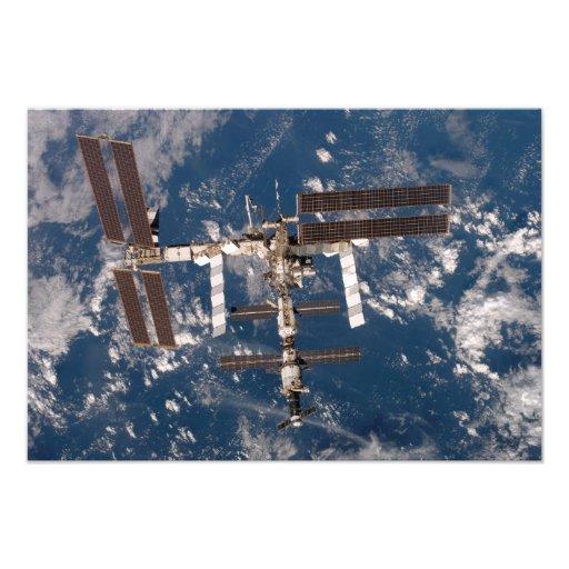 The International Space Station 6 Photo Print