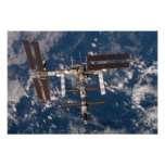The International Space Station 6 Print