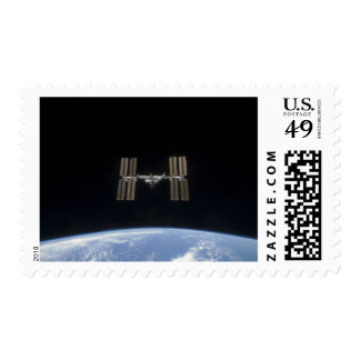 The International Space Station 7 Postage Stamp