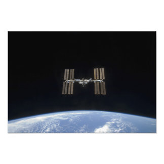 The International Space Station 8 Photo Print