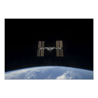 The International Space Station 8 Poster