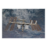 The International Space Station 9 Poster