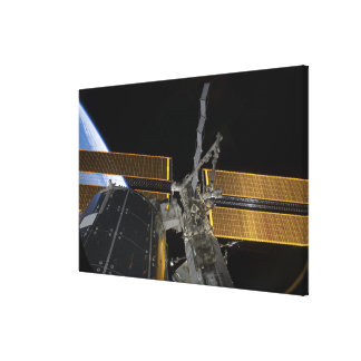 The International Space Station Canvas Print