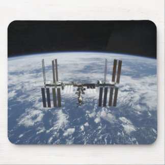 The International Space Station in orbit Mouse Pad