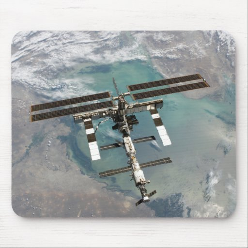 The International Space Station Mouse Pad